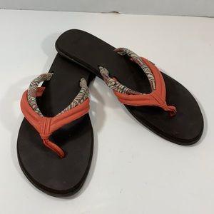 Sanuk boho sandals size 8